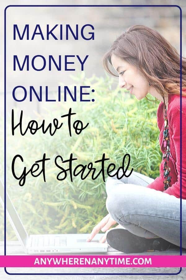 How to get started with making money online