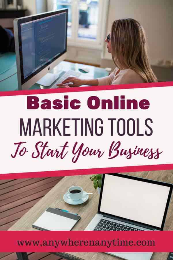 The right tools will help you get your business off the ground successfully. Find out what the basic marketing tools are to start your business.