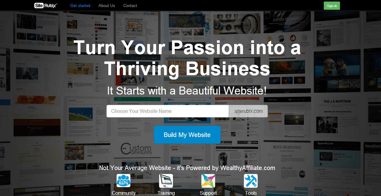 SiteRubix website