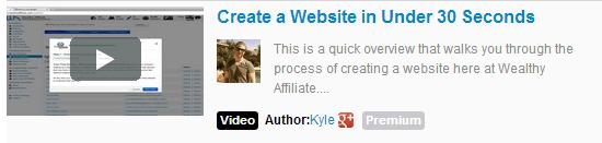 Create a website in under 30 seconds