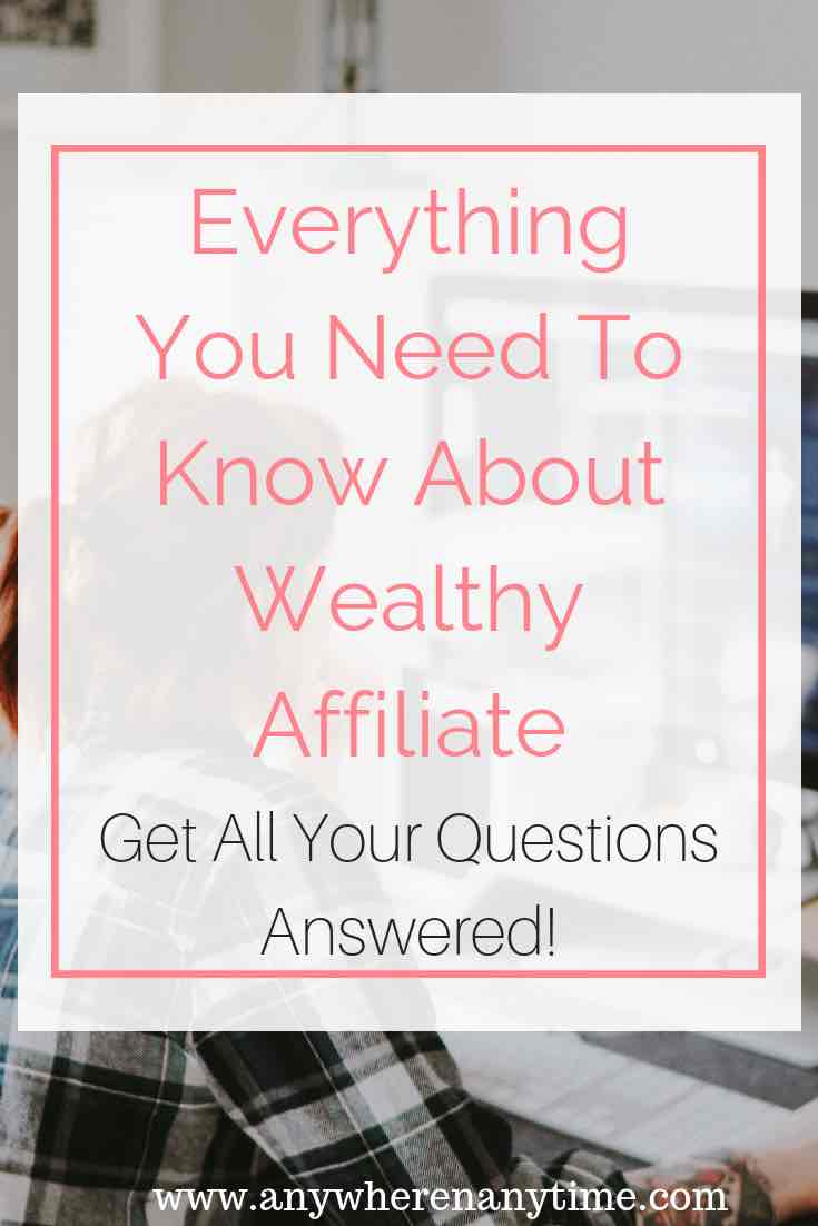 Wealthy Affiliate is a great way to get started with an online business. Affiliate marketing is a great opportunity if you are looking for a way to make money from home. Get all your questions answered about Wealthy Affiliate and if it's the right choice for you.