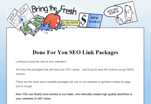 Bring The Fresh - Link Packages