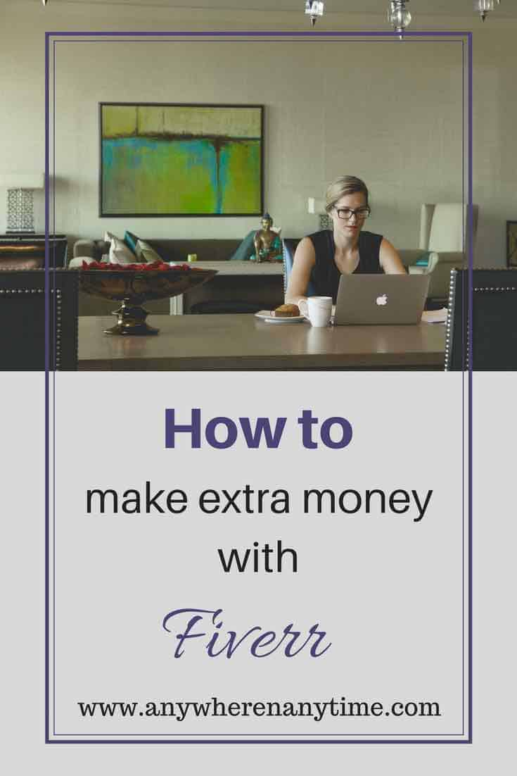 Learn how to make extra money with Fiverr.