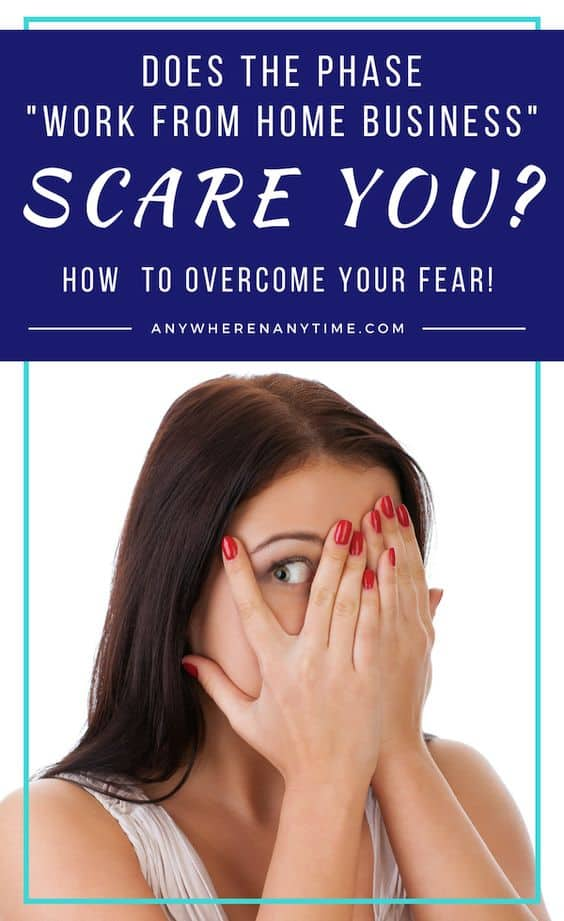 Often, the idea of starting a home business can bring nightmares of inconsistent income and tax-time headaches. But these fears are not the reality. Face your fears and what's holding you back from staring a successful work-from-home business!
