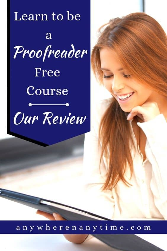 One of the most lucrative ways to make money as a stay-at-home mom is as a proofreader. Do you have what it takes to proofread for money? This free course by Proofreadanywhere.com aims to give you an introduction to what proofreading is about and how to get started. Here are our honest thoughts on this free introductory course. #workfromhomemom #coursereviews #makemoneyonline #homebusiness