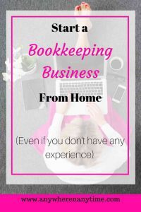 Bookkeeper business launch course review anywhere and anytime woman working on laptop malvernweather Gallery