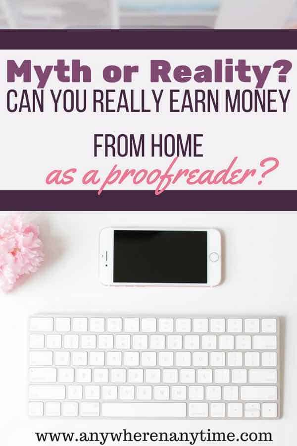 Are your ready to start a career proofreading from home but afraid it's all hype? Get your questions answered to see if proofreading from home is the career you've been looking for.