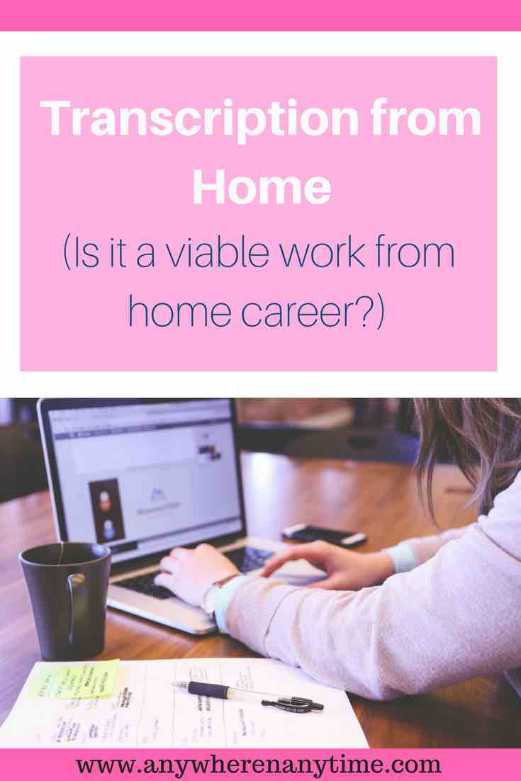 Transcription jobs from home sound like a dream right? Can you really make a part or full time income doing transcription work from home? Find out if transcription is a viable career path!