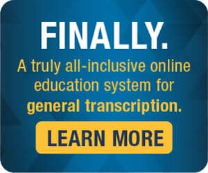 All-inclusive education system for general transcription.