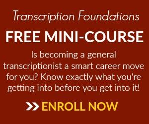 Free Mini Course for Transcribe Anywhere