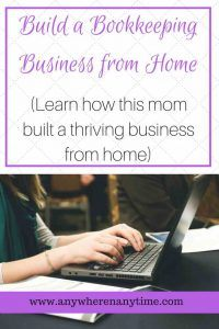 Bookkeeping Business Launch, work from home