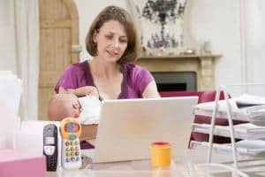 bigstock-mother-and-baby-in-home-office-4135753-1