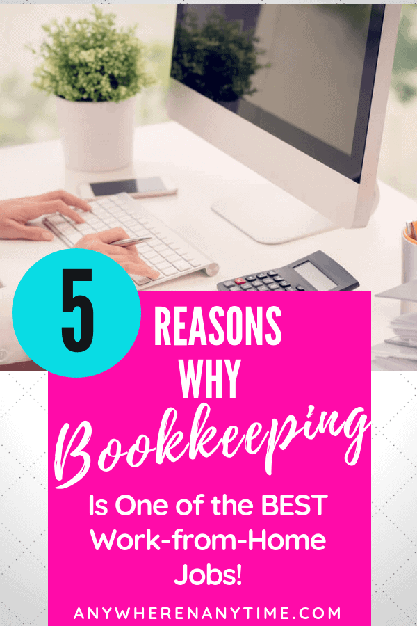 Why bookkeeping is one of the BEST work from home businesses you can start! (Like making $80/hour on your own schedule!)