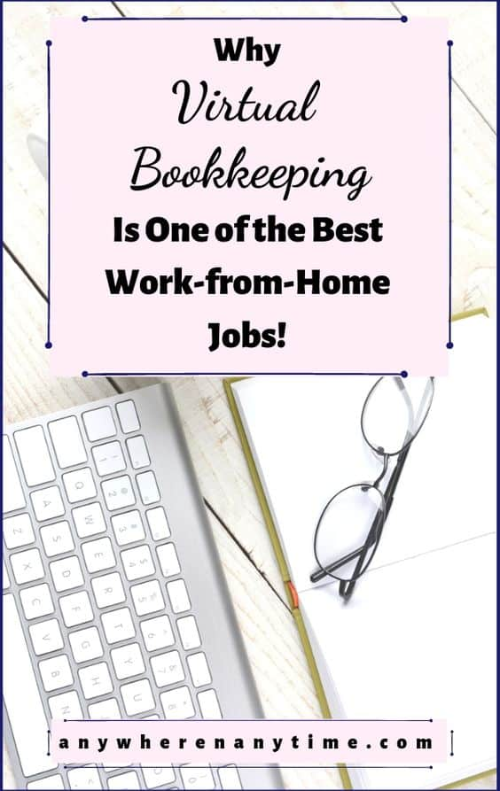If you're looking for side gigs to make money and you're interested in accounting, one of the best work from home careers is as a virtual bookkeeper. Here's why you should consider becoming a work-at-home bookkeeper and how to start your own thriving business! #homebusiness #workfromhomejobs #bookkeeping