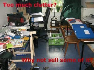 Why not sell some of your clutter?