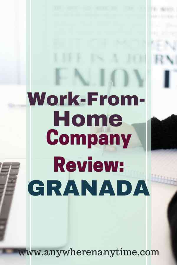 Are you tried of checking out work from home companies and coming up with scams? This review lets you know all the pros and cons of finding a work at home job with Granada. Check it out to see if Granada is the right work from home company for you. #workfromhomecompany #workfromhomejobs #makemoneyonline #granada
