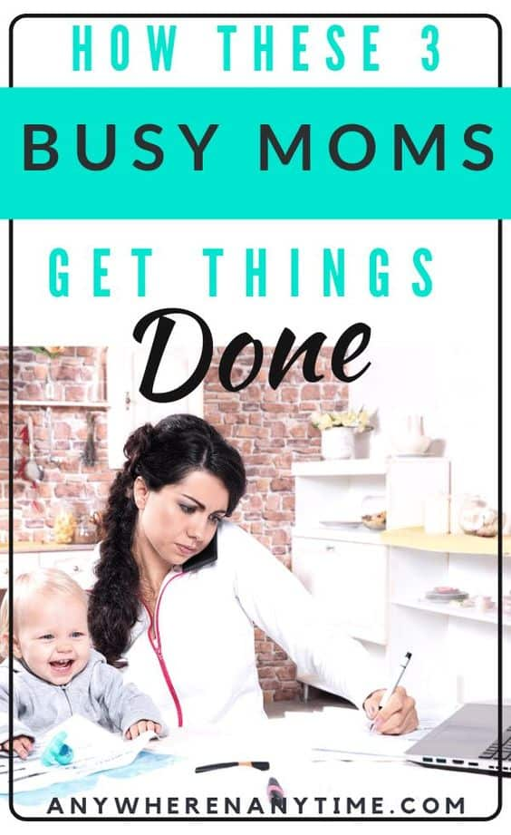 It's tough being a work at home mom, and taking care of your kids and your job can be quite the juggling act. If time management isn't your strong suit, you'll definitely want to check out these tips from the experienced moms who have done it all! #timemanagement #sahm #wahm #productivity