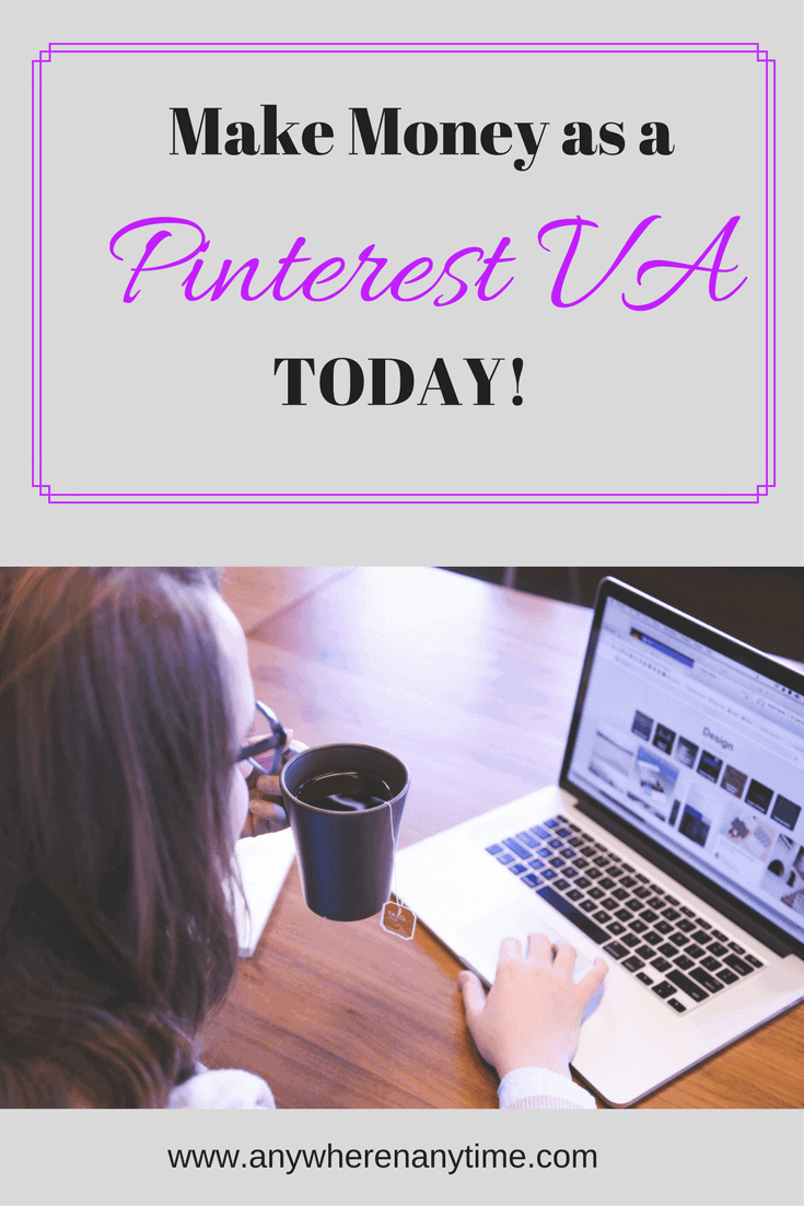 Love Pinterest? Start your career as a Pinterest VA and make money working from home.