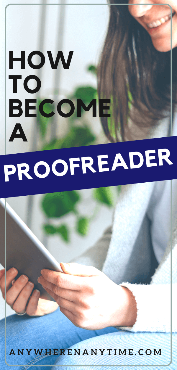 "Are you a ""grammar nerd?"" Proofreading would be a great option for you especially if you are looking for a way to make money from home. Get the scoop on how you can get the tips and training you need to started making extra money from home today!"