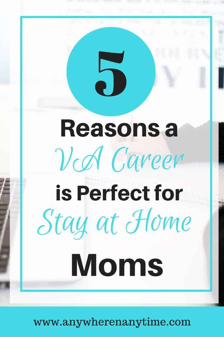 Starting a virtual assistant business from home is a great option for stay-at-homes. Check out 5 reasons why.....