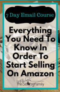 The Selling Family Amazon email course