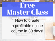 Free Master Class on how to create your own online course
