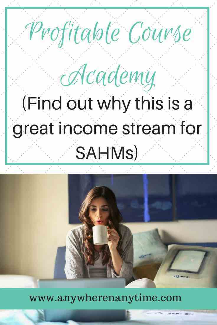 Are you looking for a passive income stream you can launch from home? Profitable Course Academy is a great resource for SAHMs who have skills or expertise they want to teach others.