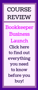 Bookkeeper Business Launch review link