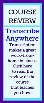 Review of Transcribe Anywhere