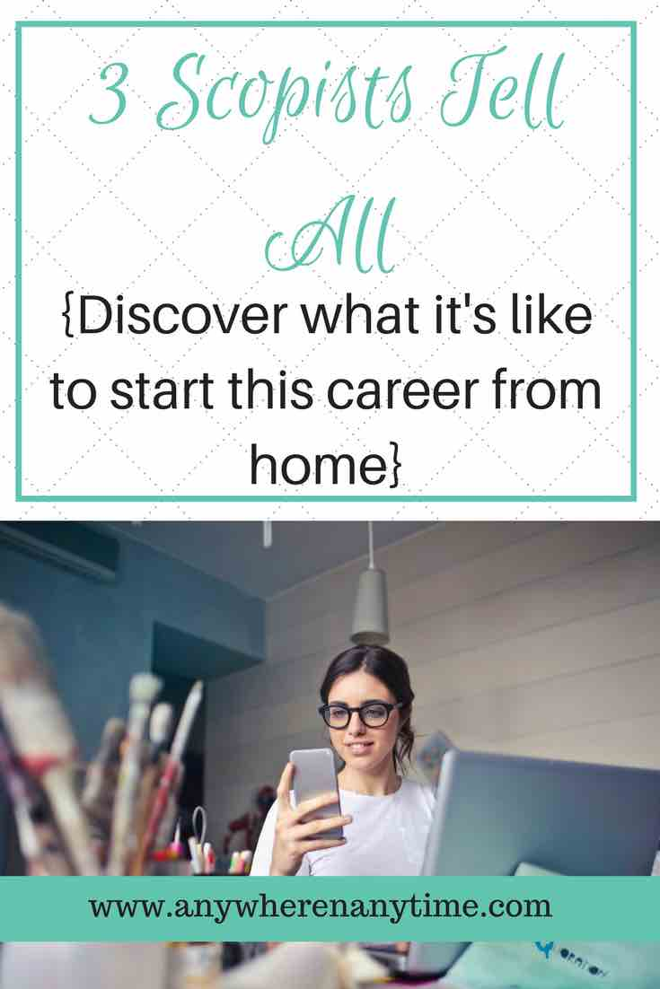 Discover the work at home career that isn't known to many. Scoping jobs are out there and it just may be the work from home career you've been looking for. 3 scopists reveal what scoping looks like and the financial impact it's having on their lives.