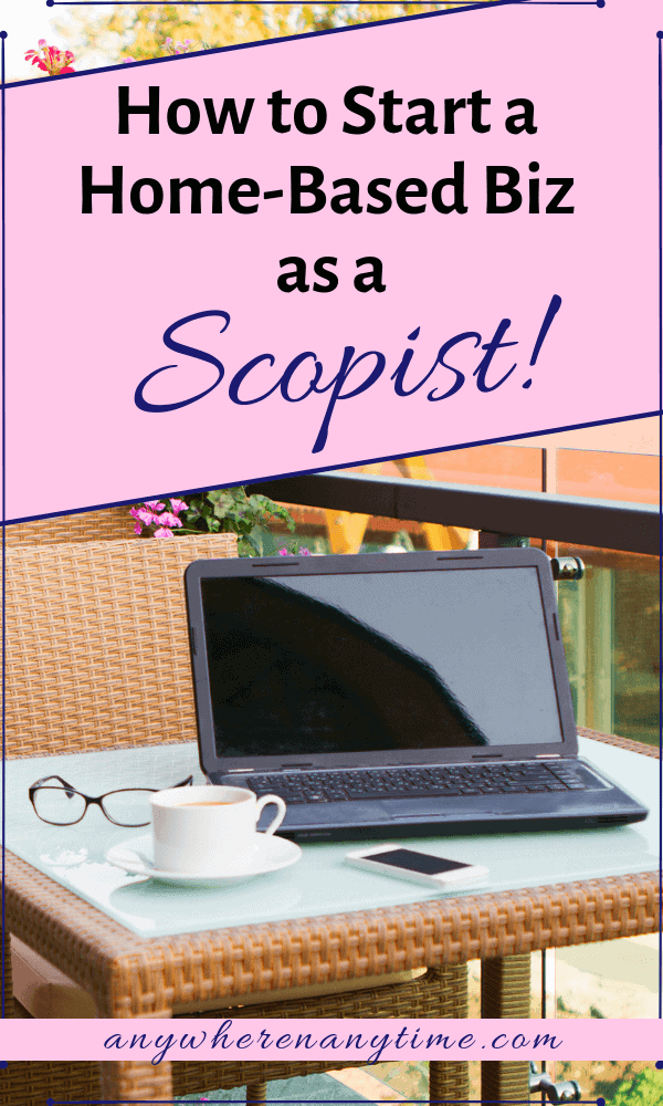 It can be hard to find information on this unique home business option, (not even your spell checker knows what a Scopist is!) But it's a very lucrative option! Find out what it is and how to become one! #homebusiness #workfromhome #makingmoneyonline