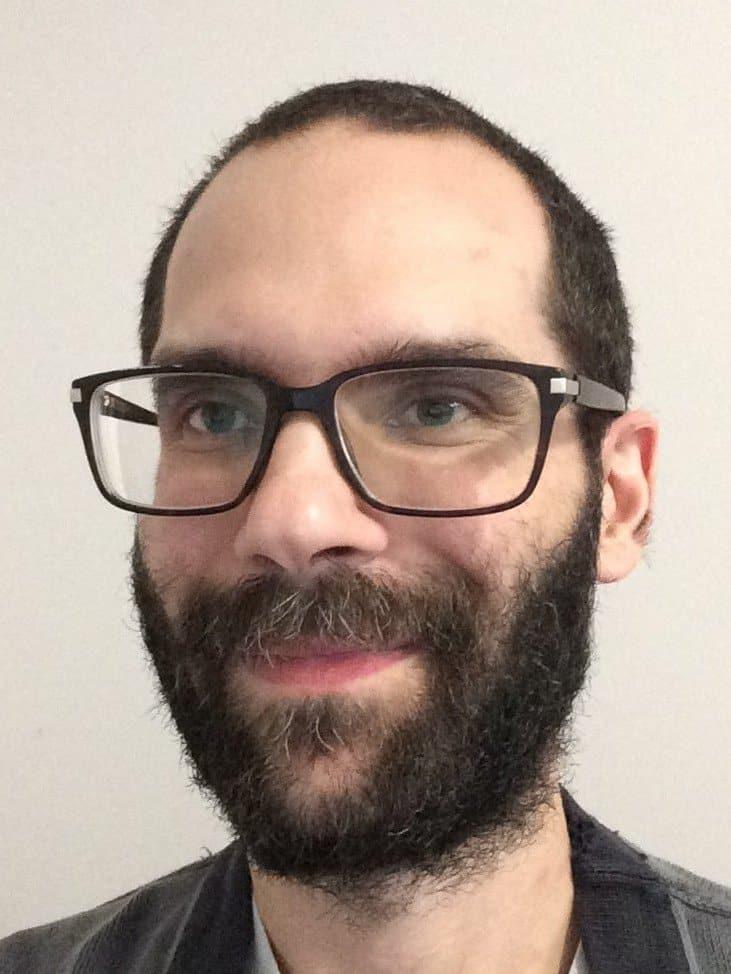 Scopist Matthew Ackroyd