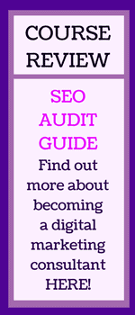 SEO Audit Guide Course Review