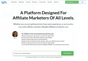 Wealthy Affiliate - A Platform for Affiliate Marketers of All Levels