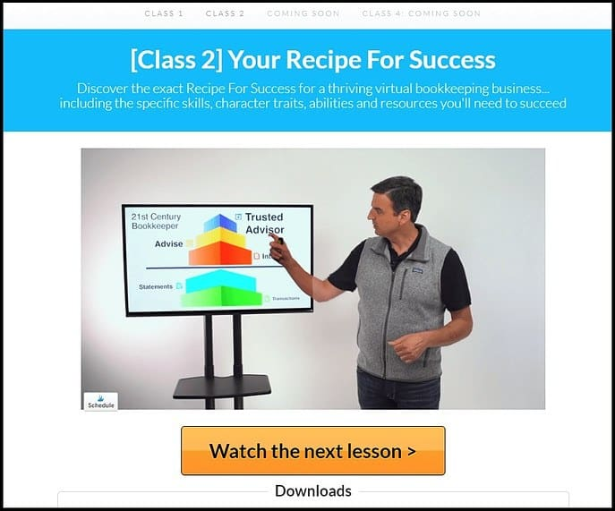 Screenshot of Free Introductory Lesson