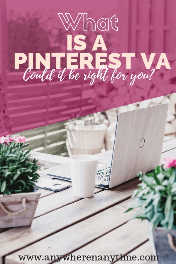 Woman on Pinterest with Laptop
