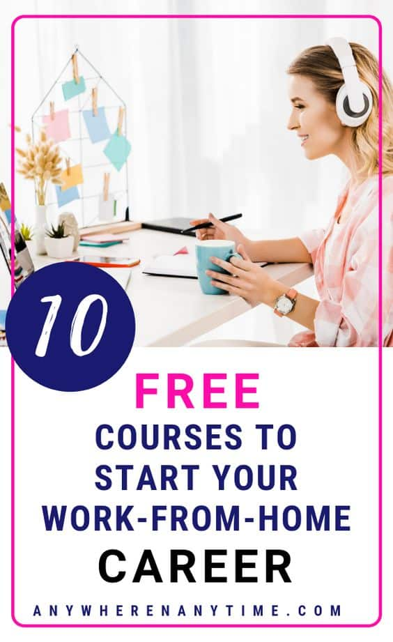 This guide has our top 10 resources for work-at-home career options for stay-at-home moms. Whether you're looking for a little extra income on the side or hoping to grow a full-time business, these some of the most lucrative business ideas for 2019. #businessideas #workfromhome #workathomemom