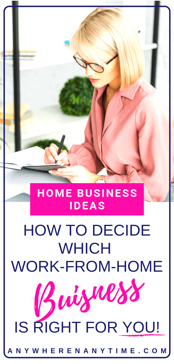 Interested in starting a work-at-home business but have no idea where to start? Take these 7 steps figure out your innate skillset and what home business idea is best for you!