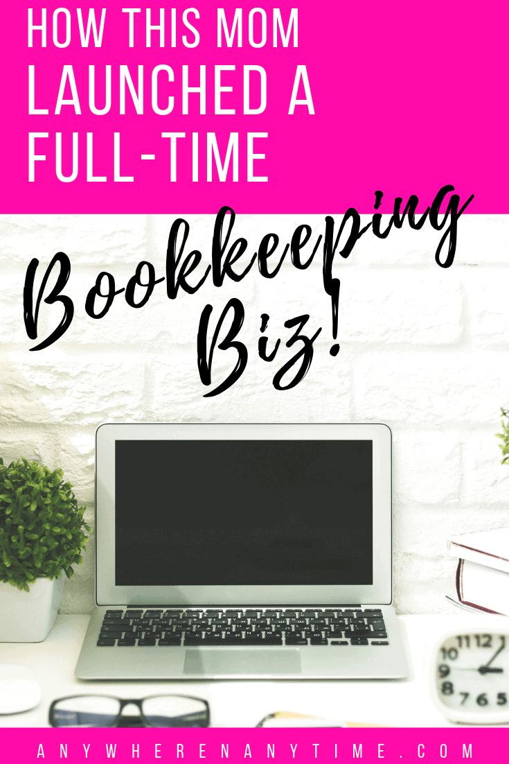 Working full-time from home is possible! This single mom found a way to start her own home bookkeeping business to spend more time with family and work on her own terms!