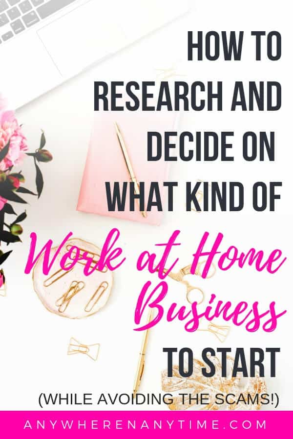 Starting a home-based business is a great way to make money on the side, but how do you even decide what kind of business to start? How do you even research the options without falling prey to scams? It can be intimidating to parse through all the information on the internet, so that's why we put together this simple, 7 step process to help you determine which legitimate business model is right for you! #homebusiness #sidehustle #entrepreneur #ecommerce
