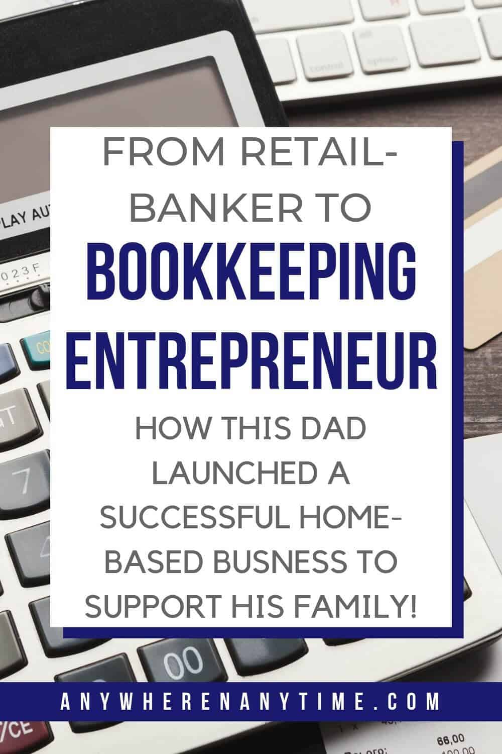 Wish you could be a stay-at-home dad to spend more time with your kids but still need to support your family? Find out how this Dad launched a successful home business as a bookkeeper!
