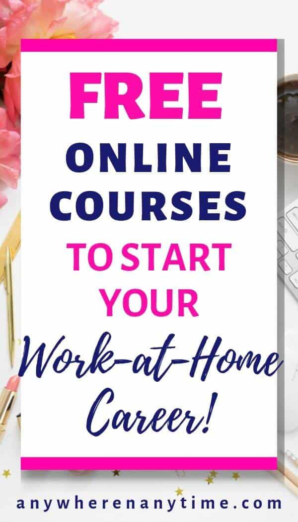 Start your work from home career today with these free introductory courses that can help you launch your own virtual business to generate extra income for your family!