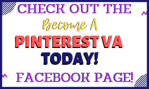 Become a Pinterest VA Facebook page