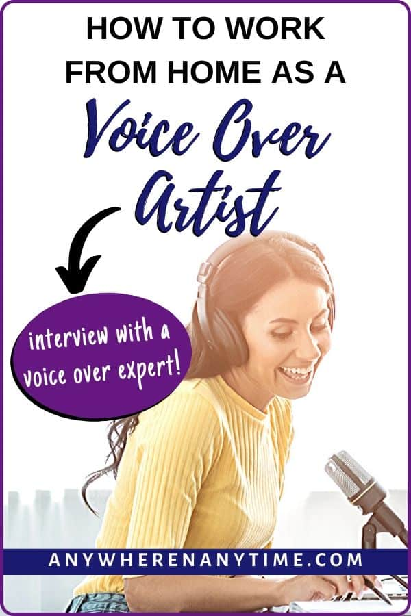 How to Work from Home as a Voice Over Artist
