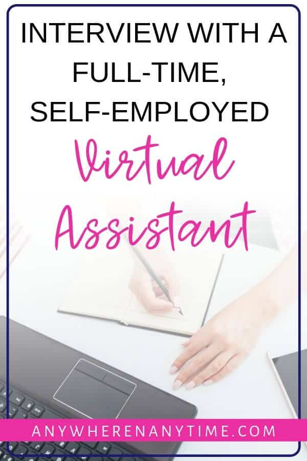 How to be a self employed virtual assistant.