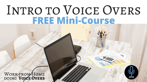 Intro to Voice Overs Free Mini Course