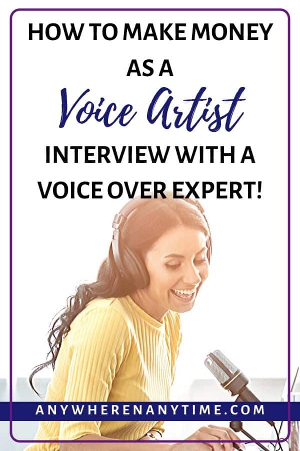 How to make money as a voice artist