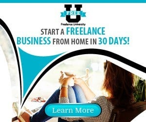 Start a Freelance Business from Home in 30 Days.