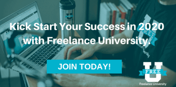 Kick Start Your Success in 2020 with Freelance University