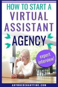 how to start a virtual assistant agency
